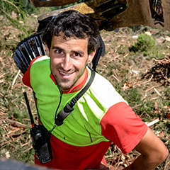 Forstunternehmer Andreas Laubichler