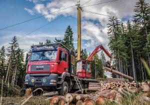 Mounty 4000 Konrad Forsttechnik, Forstbetrieb Laubichler Österreich