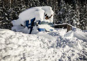 Schneereicher Winter Scania