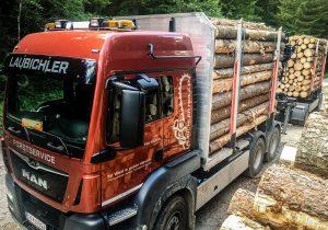 Holztransporte in Salzburg, Steiermark und ganz Österreich