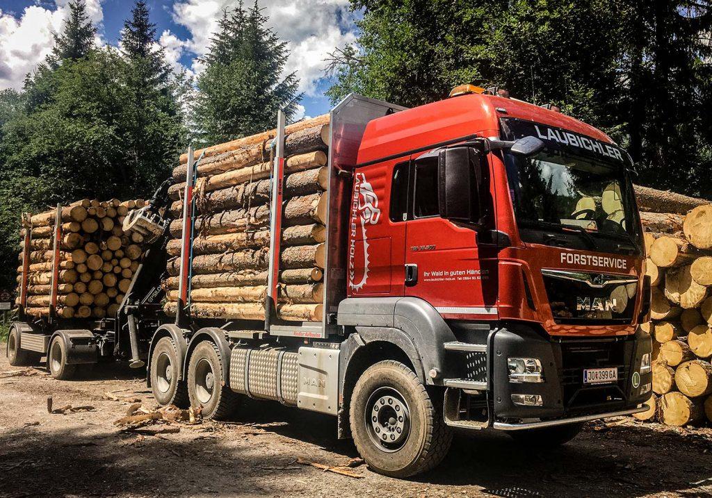 Holzhandel & Holztransport Laubichler Forstservice