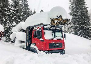 Mounty 4000 in Winterpause