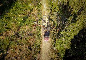 Luftaufnahme Mounty 4000 - Forstwirtschaft Laubichler Österreich